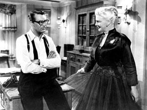 Cary Grant y Ginger Rogers en Me siento rejuvenecer