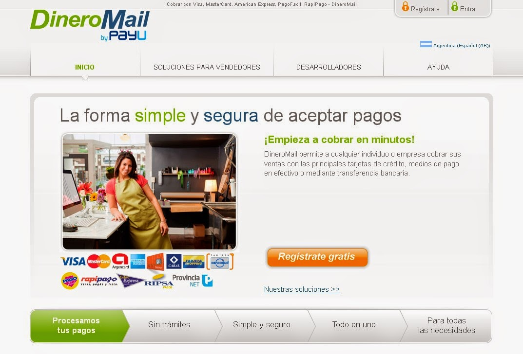 DineroMail Screen