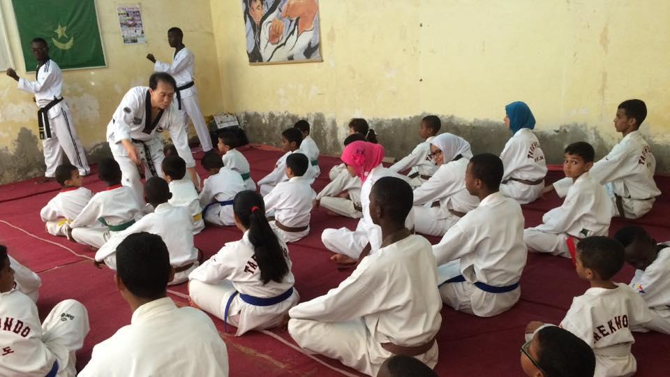 Gimnasio han kuk hapkido taekwondo maestro bang en for Gimnasio telde