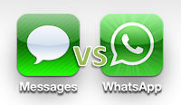 iMessaje vs WhatsApp Ventajes  de cada uno