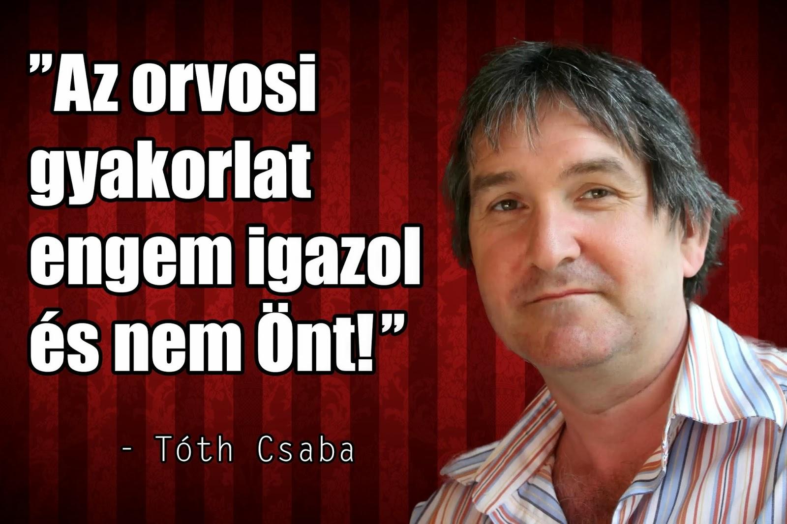 dr tóth csaba paleo orvos beszólása