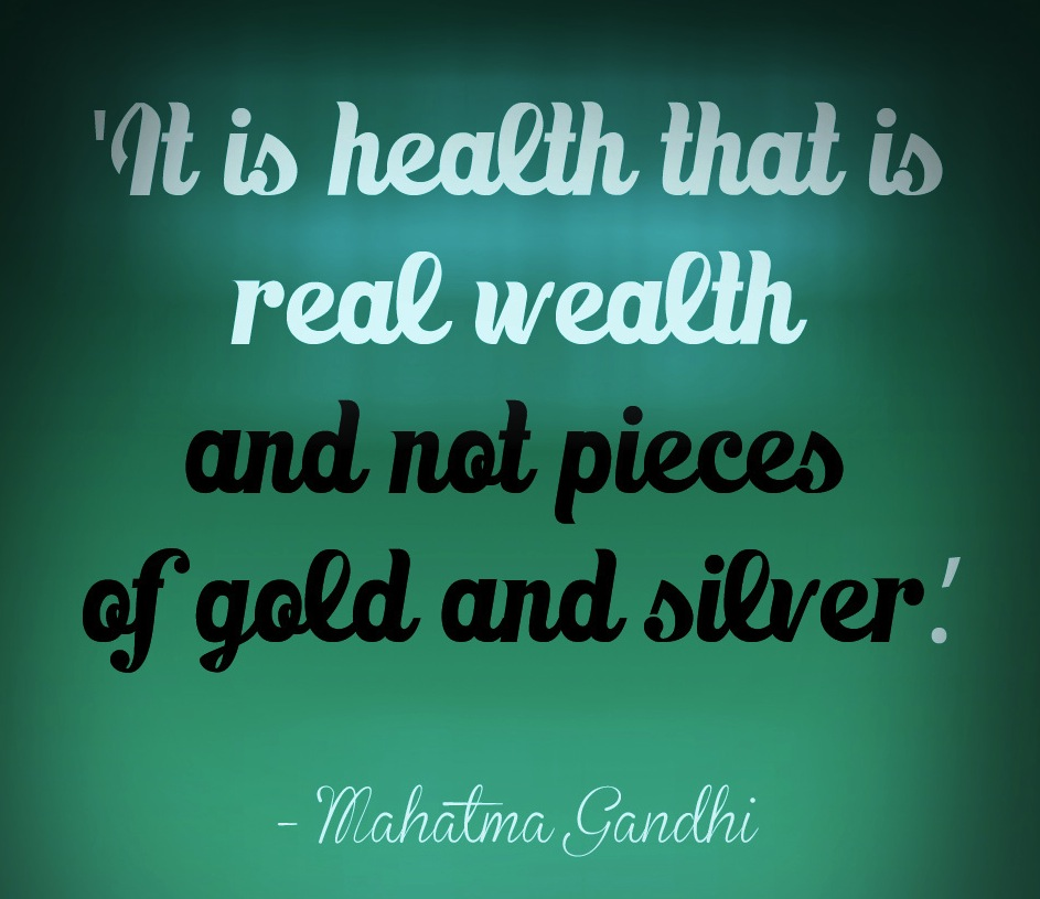 Good Health Quotes New Not Buying Anything Good Health Is True Wealth