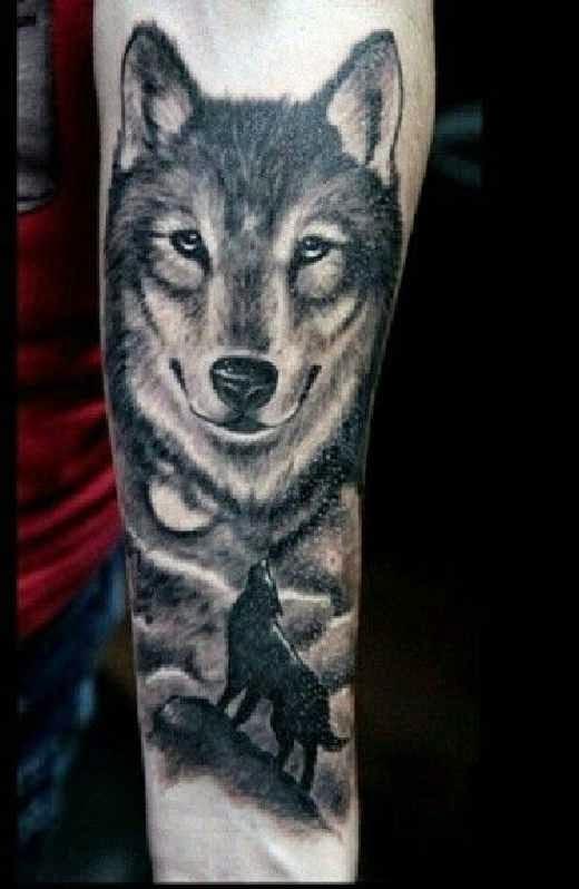 tatuajes de lobos ideas y simbolismo belagoria la. Black Bedroom Furniture Sets. Home Design Ideas