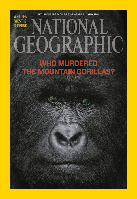 National Geographic Gorilla Face Cover