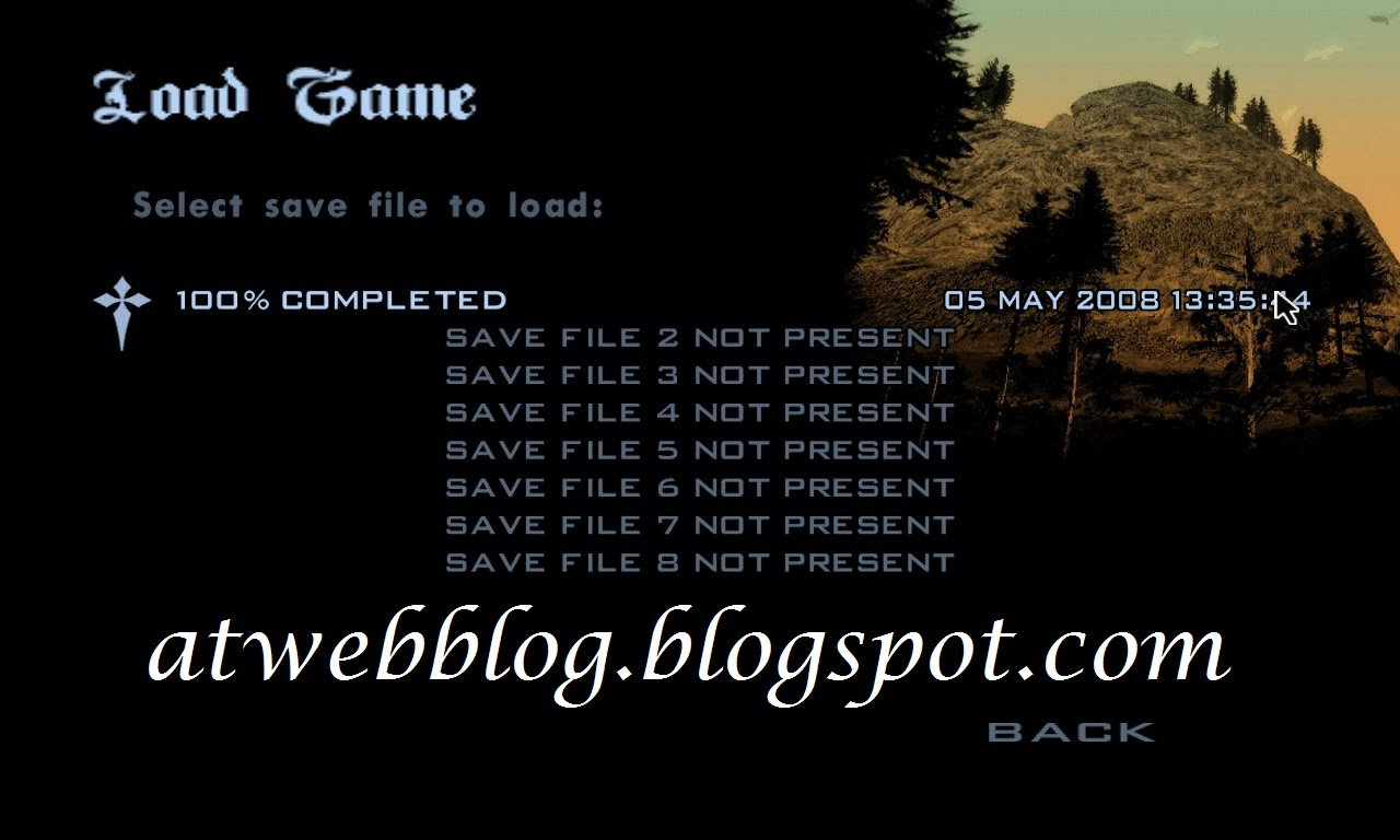 Download Save Game Tamat GTA San Andreas PC - ATWebBlog