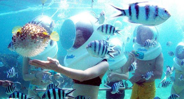Sea Walker Tanjung Benoa Bali