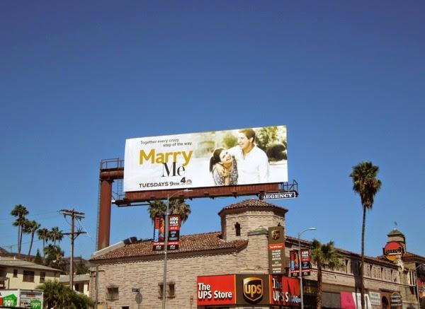 Marry Me season 1 billboard