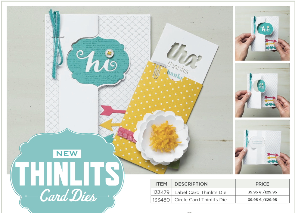 NEW! - Thinlit Card Dies