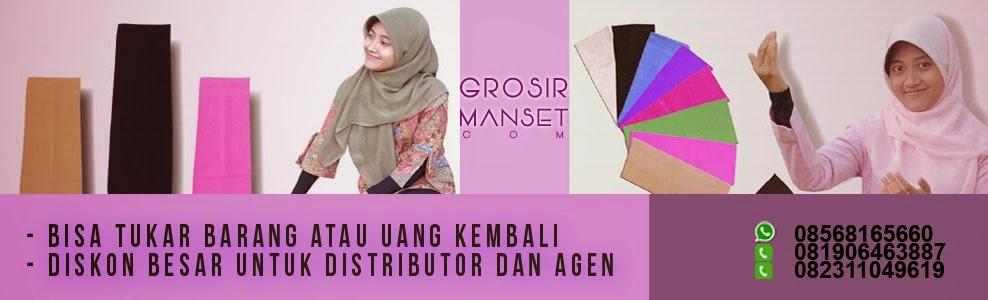 Toko, Distributor, Jual Grosir Manset Online, Murah, Tangan, Gamis, Menyusui