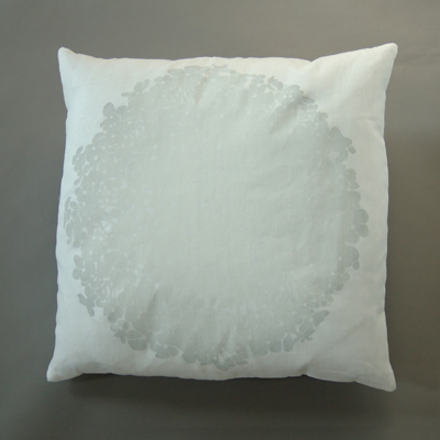 hydranga pillow
