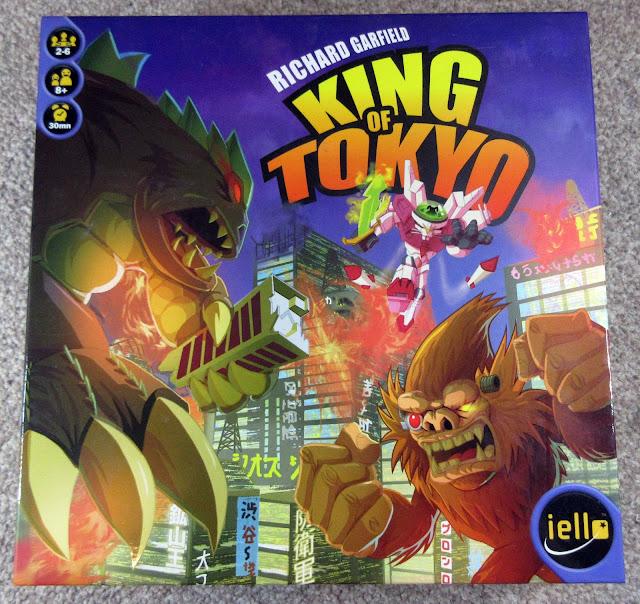 King of Tokyo box art | Random Nerdery