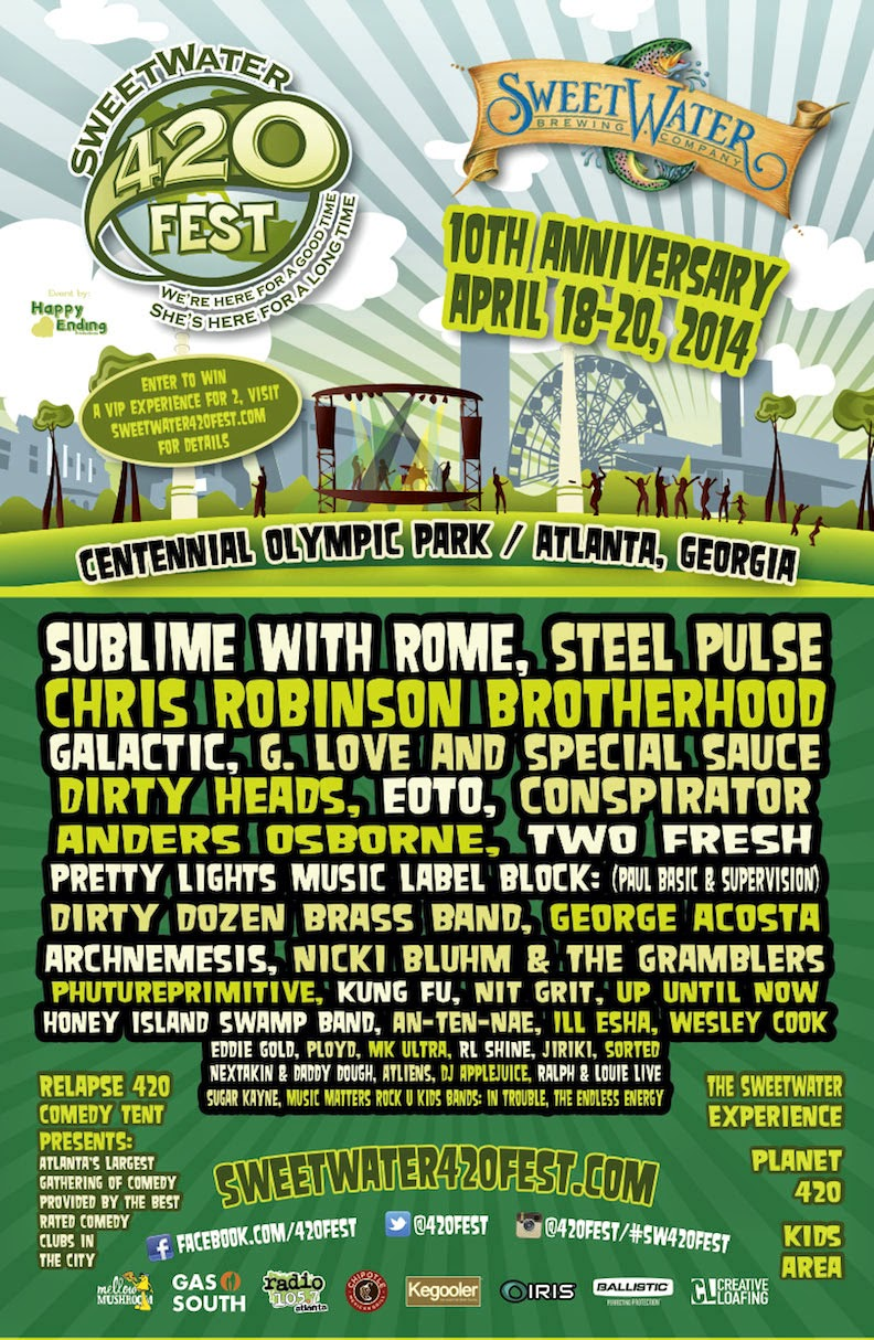 SweetWater 420 Fest Flyer
