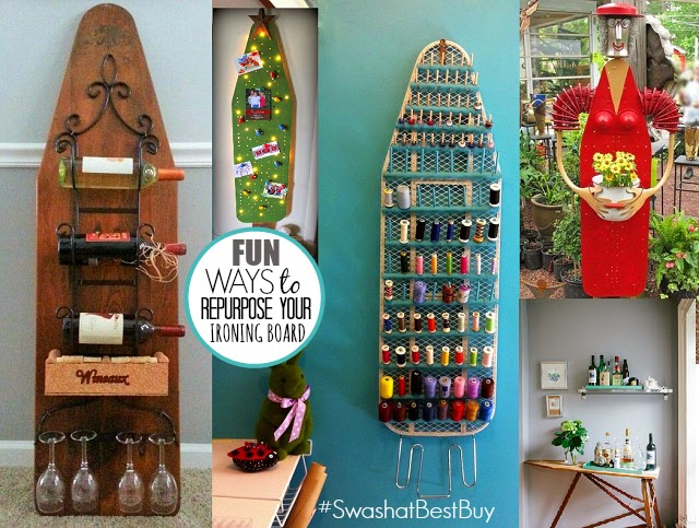 Creative Ways To REPURPOSE Your Ironing Board Swash Laundry Care System #SwashAtBestBuy One Savvy Mom onesavvymom