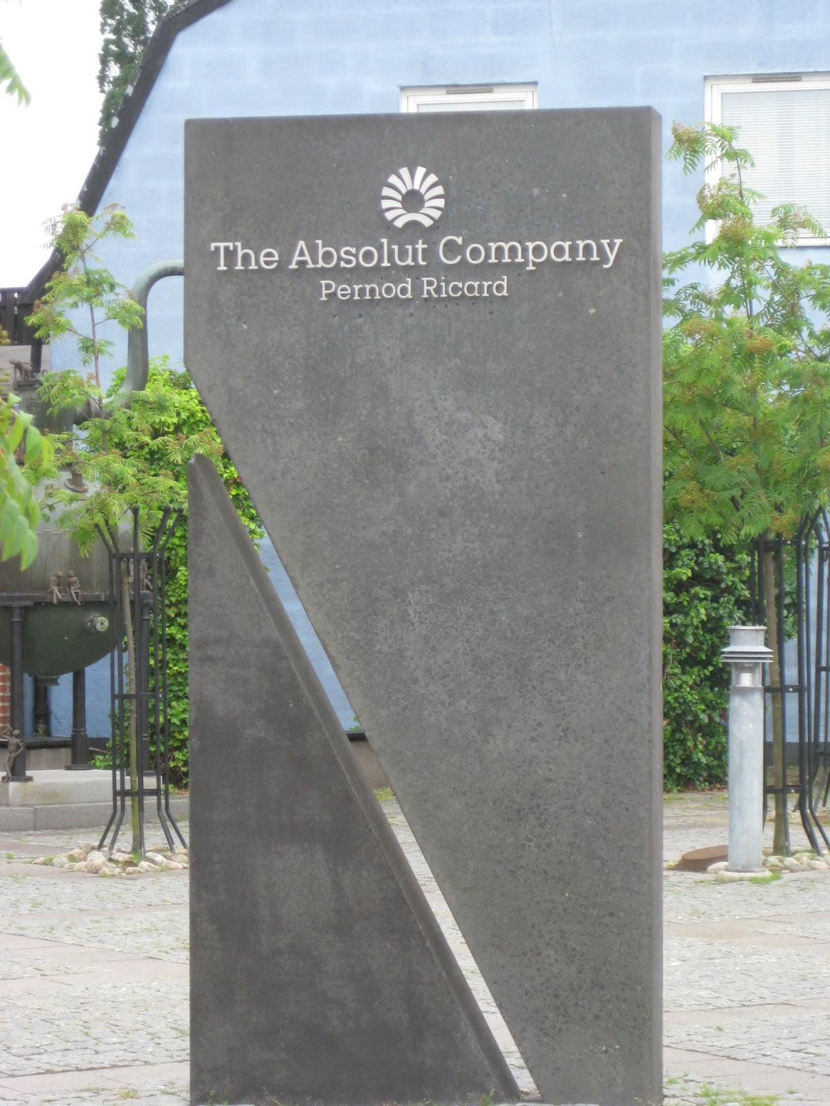 image of Absolute Vodka sign
