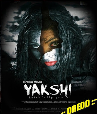 Poster Of Yakshi Faithfully Yours In Dual Audio Hindi Malayalam 300MB Compressed Small Size Pc Movie Free Download Only At exp3rto.com
