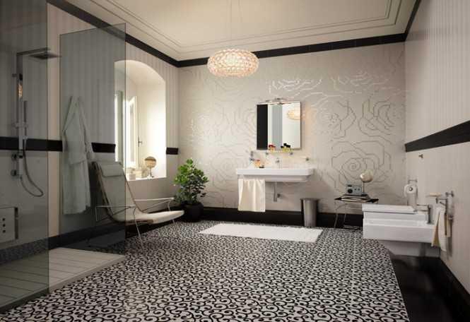 Modern Bathroom Floor Ideas : Banheiros modernos e contempor?neos dicas de cores