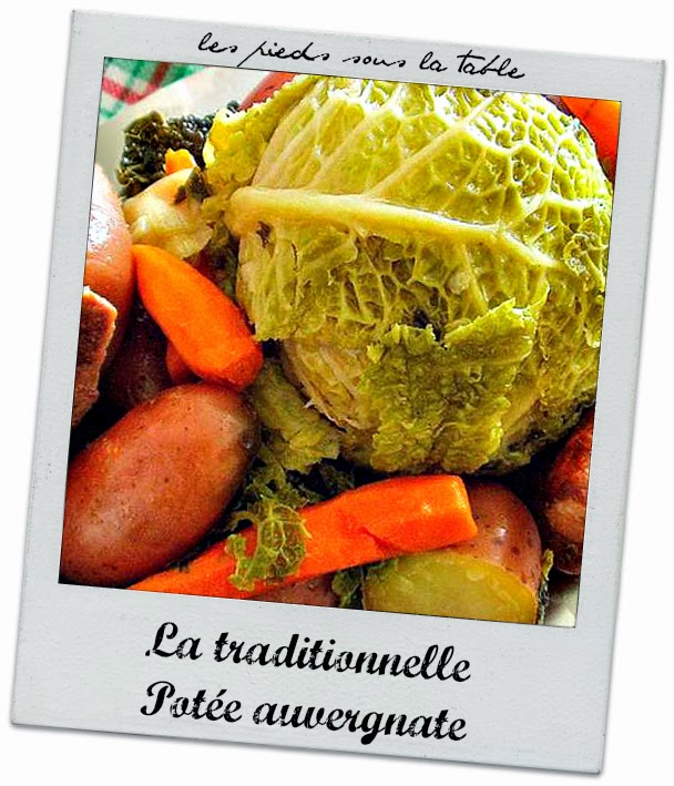 La traditionnelle Potée auvergnate