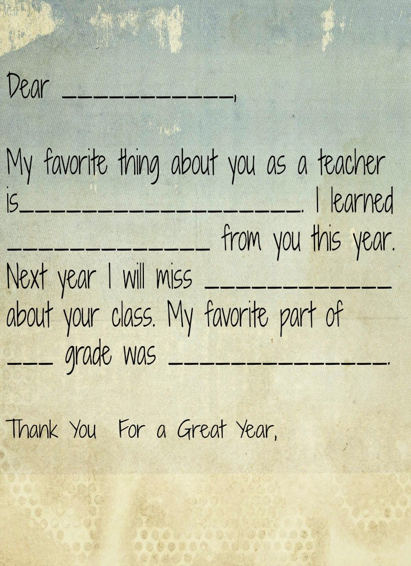 Teacher vase gift, teacher printable thank you note for preschoolers, preschool teacher questionnaire, Preschool thank you note.