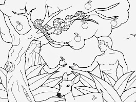 Garden Of Eden Coloring Pages Printable Free