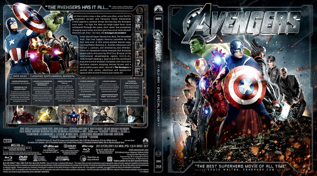 Capa Bluray The Avengers