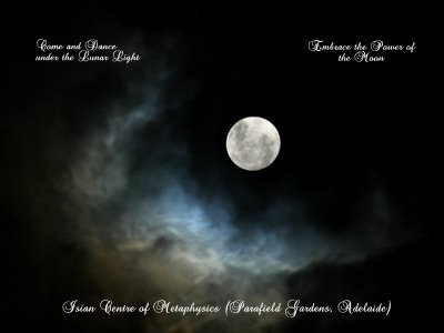 OCTOBER: Full Moon Meditation and Healing Circle