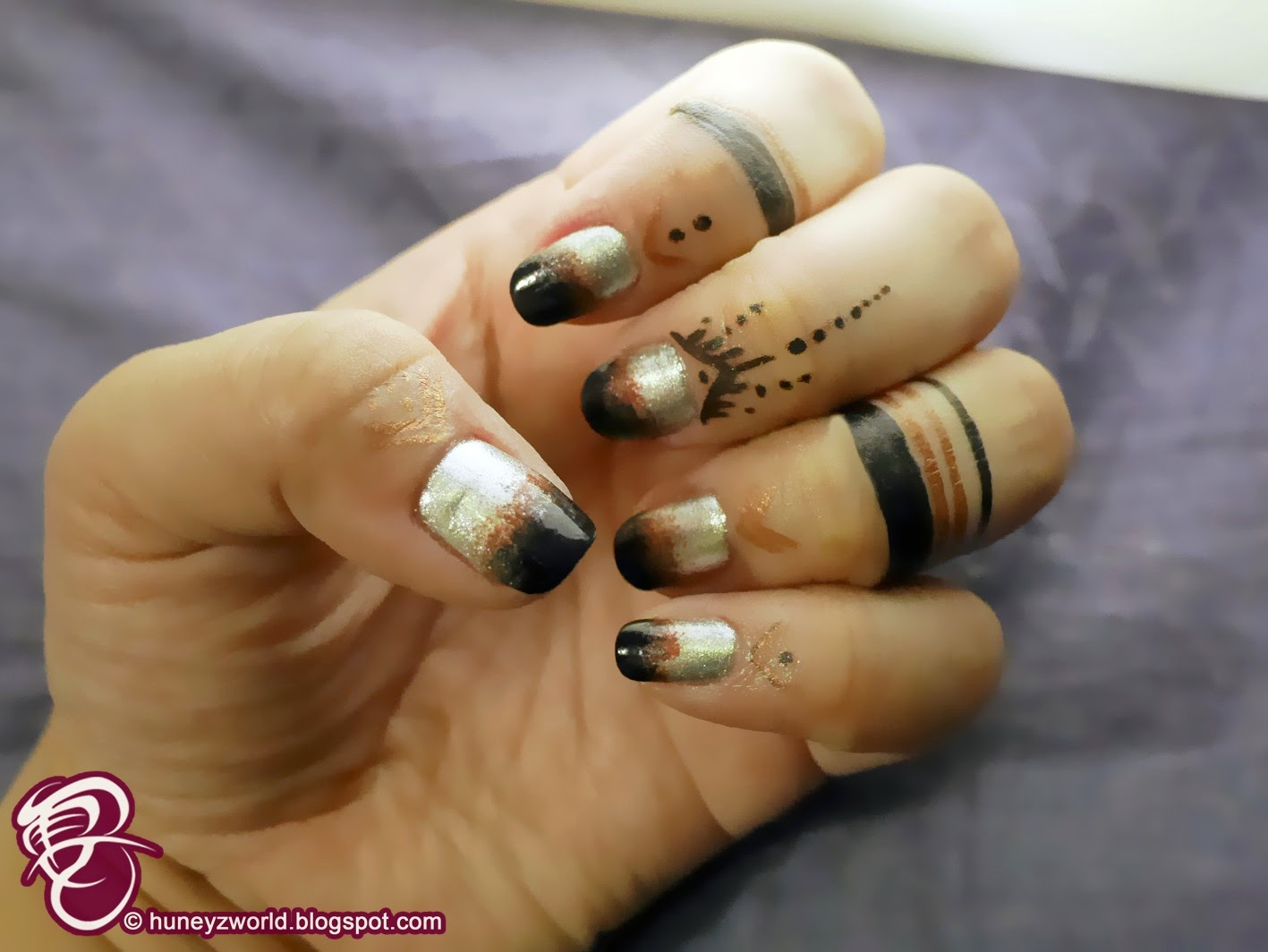 get the look show off your creativity with diy cuticle nail tattoo. Black Bedroom Furniture Sets. Home Design Ideas