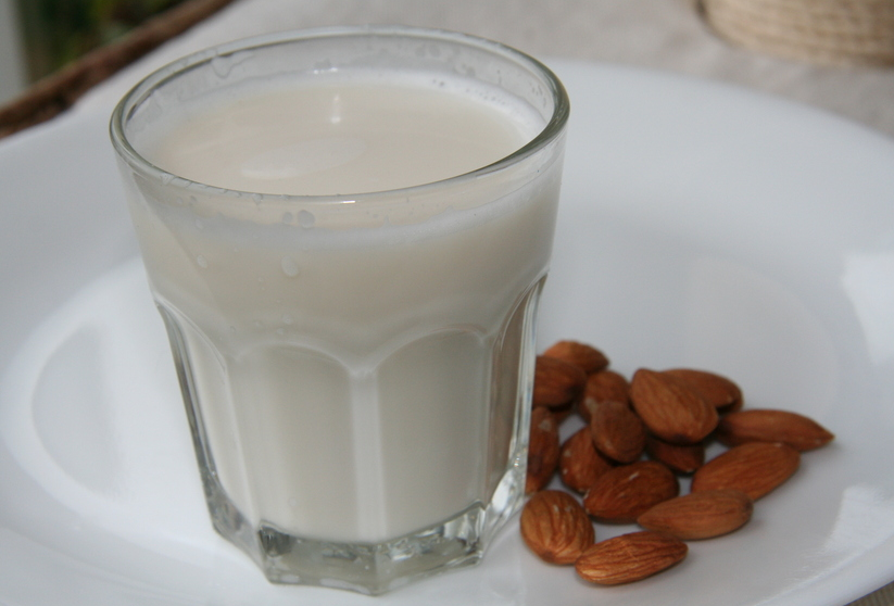 is almond milk fattening?