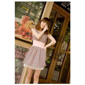 Korean girls fashion style korean girls (model casual dress)