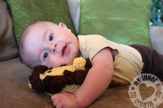 Crochet Plush Lion