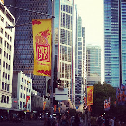 DRAGON FLAGS - CITY OF SYDNEY