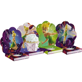 Creative Tinkerbell Birthday Cupcakes Holder