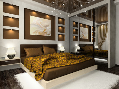 Bedroom Design: French bedroom