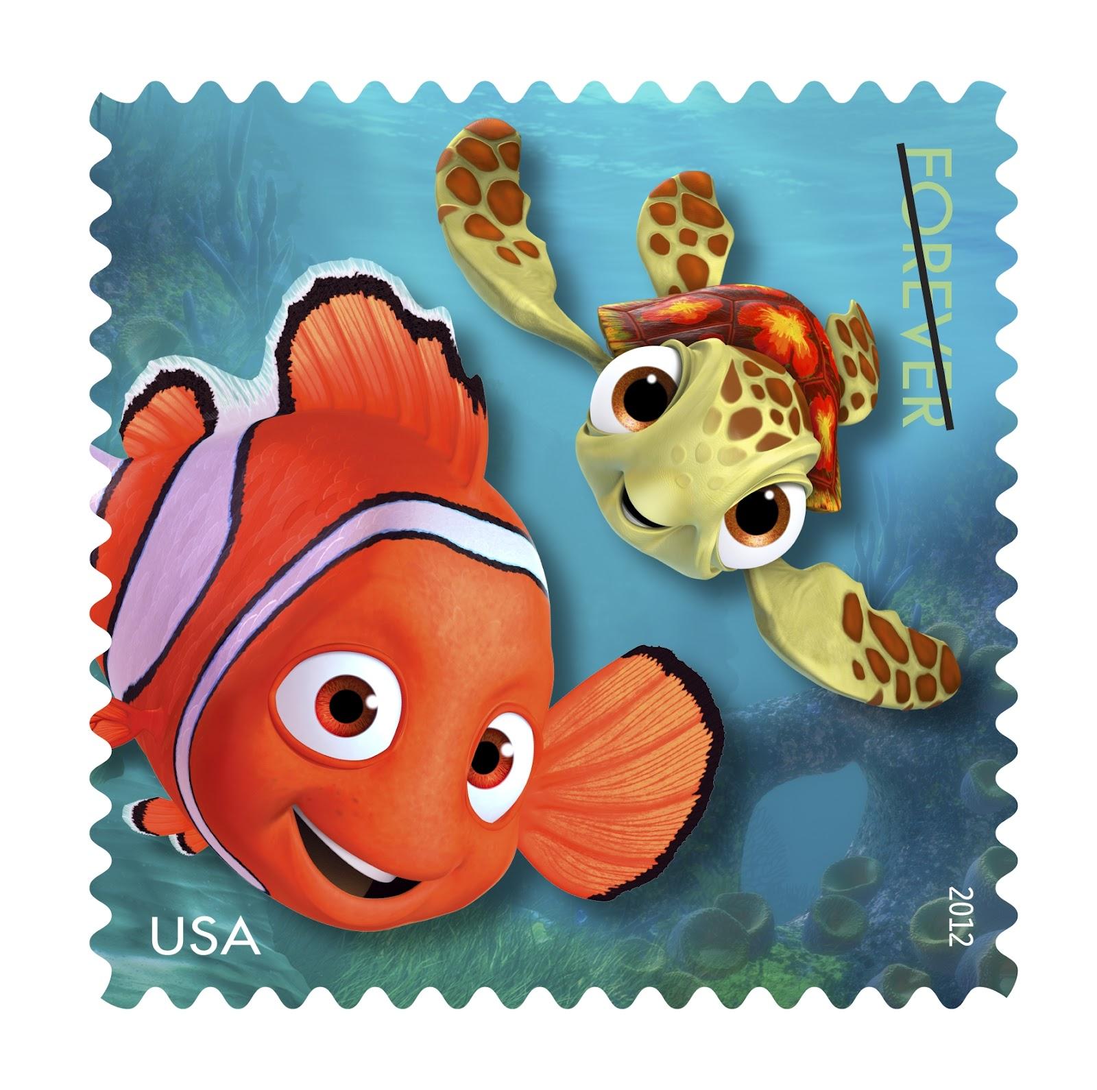 Mail A Smile Forever Stamps Celebrate Disney Pixar