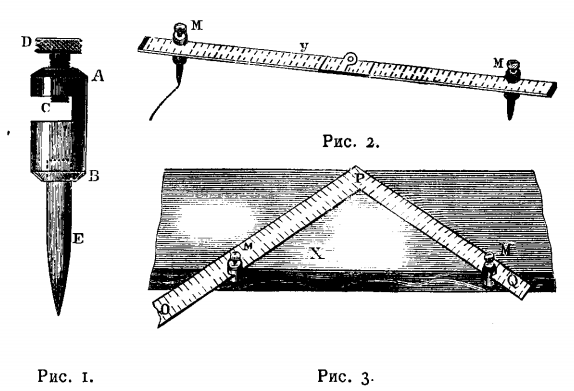 Разметочный инструмент слесаря и столяра
