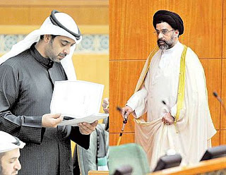 تصريحات وزير الاعلام بعد انتهاء جلسة الاستجواب المقدم من القلاف 10-4-2012
