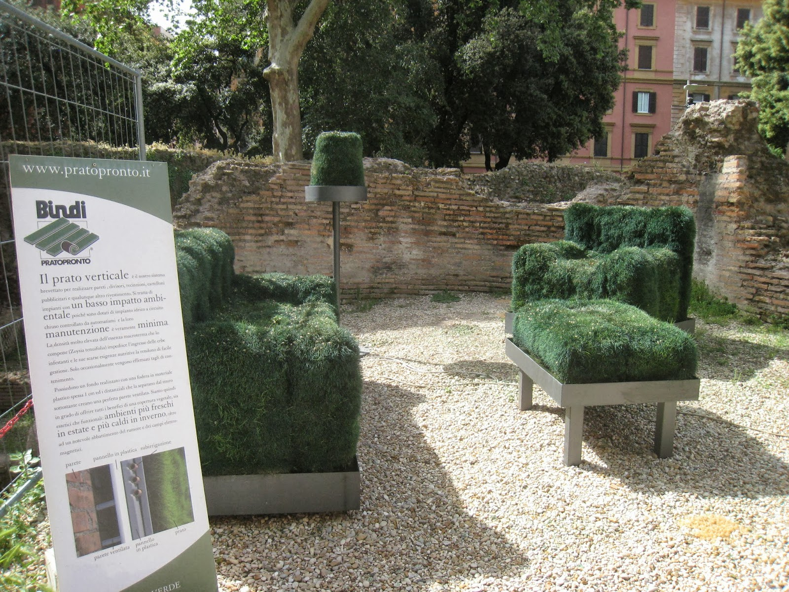 Grass Couch Rome The Second Time Grass Comes To Rome