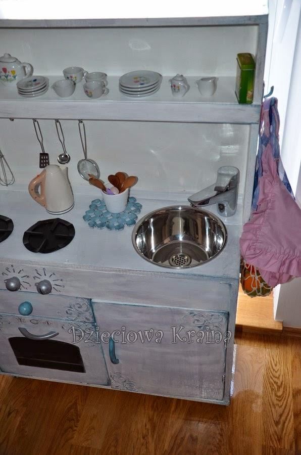 Dzieciowa Kraina Kuchnia dla dzieci DIY
