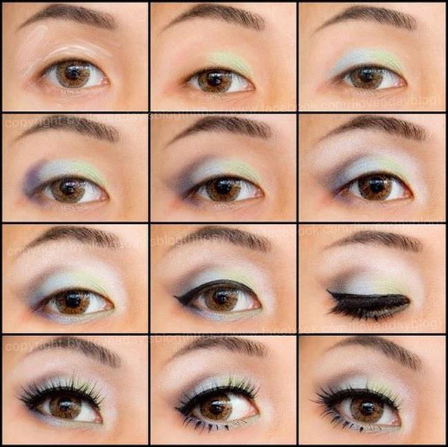 maquillaje para ojos saltones