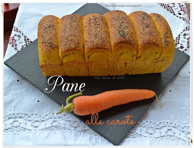 pane alla carote con lievito madre