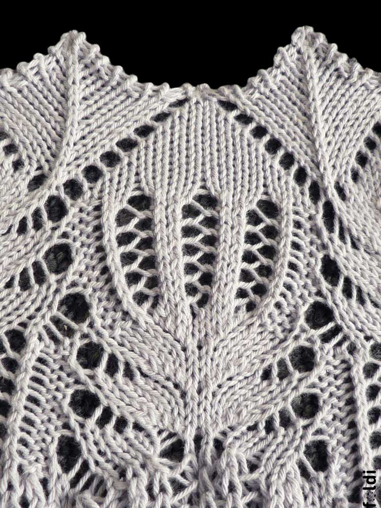 Knitting Pattern Lace Design : foldi: The traditional lace