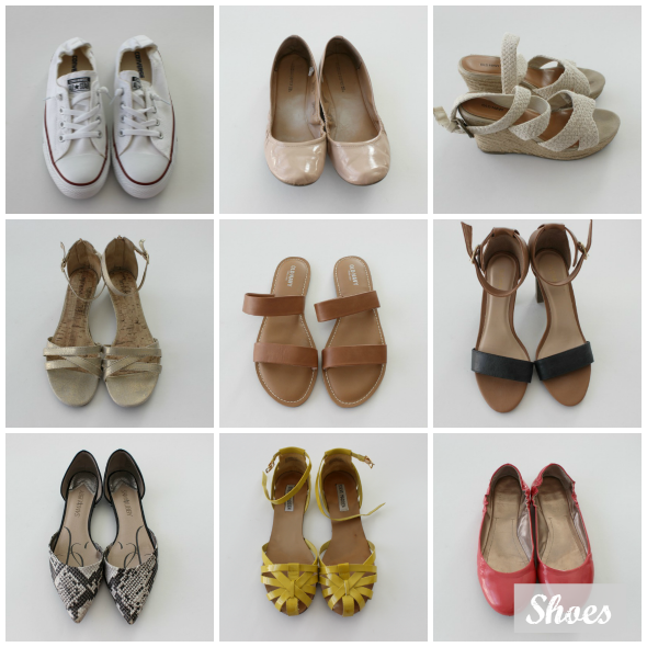 Spring Capsule Wardrobe Shoes | www.shealennon.com