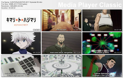"Download Film / Anime Hunter x Hunter 2011 Episode 60 ""Akhir dan Awal"" Bahasa Indonesia"