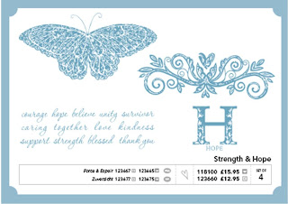 Strength and Hopes Charity Stamp Set