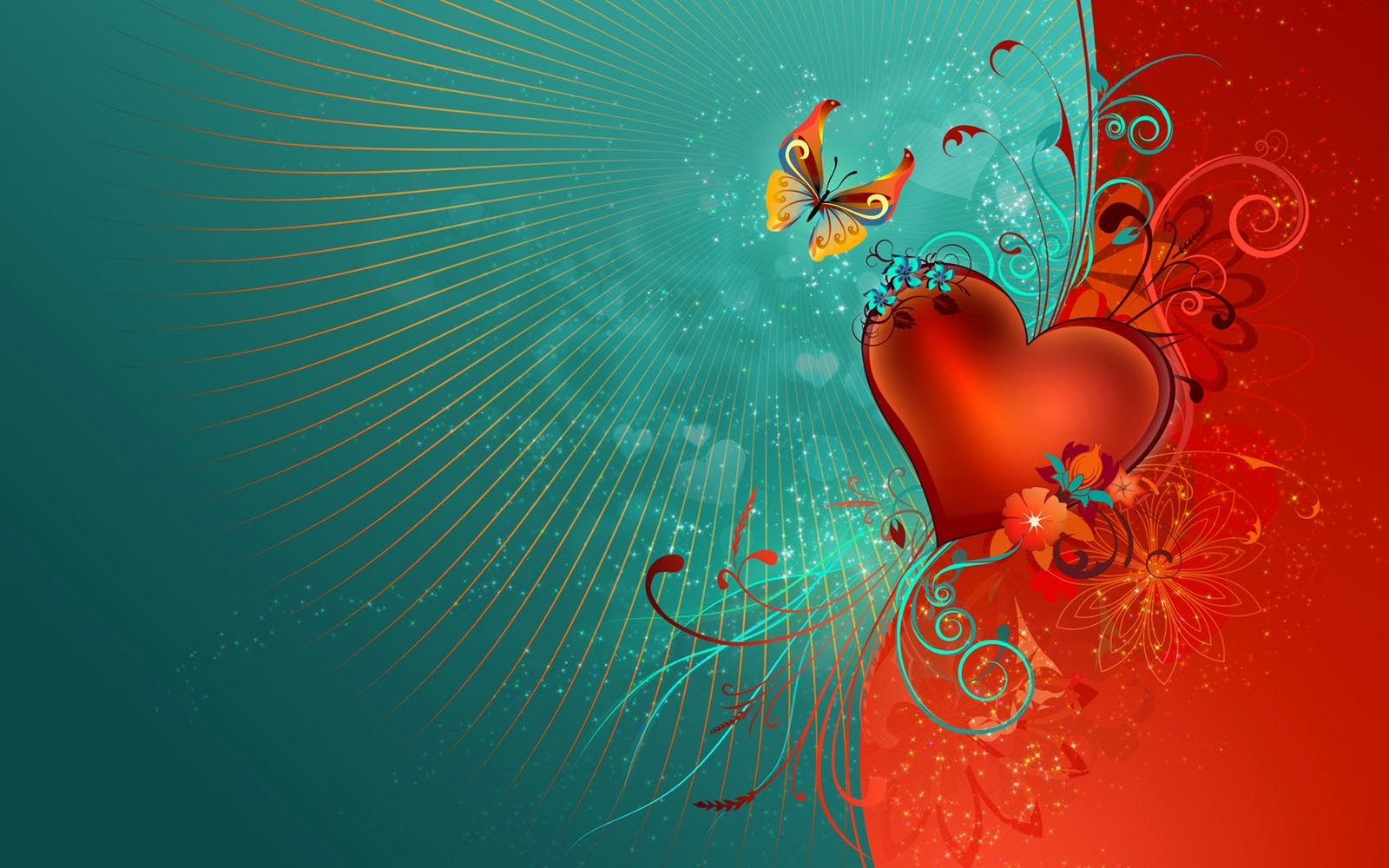 art pictures: creative love wallpapers