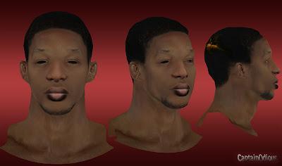 NBA 2K13 Hasheem Thabeet Cyberface Mod