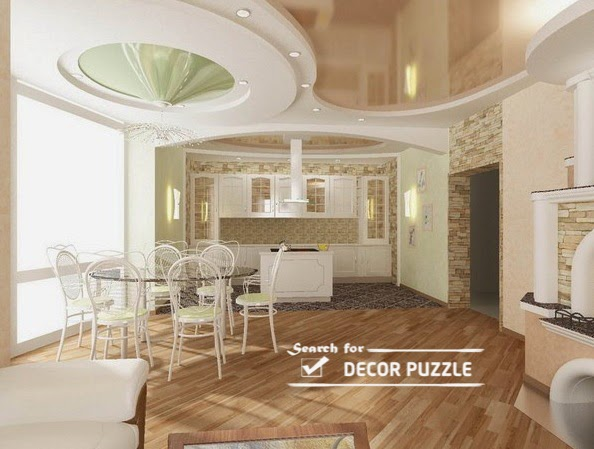 False Gypsum Board Ceiling Designs For Living Room 2017 Part 39