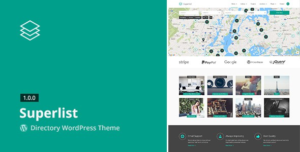 Superlist Directory WordPress Theme