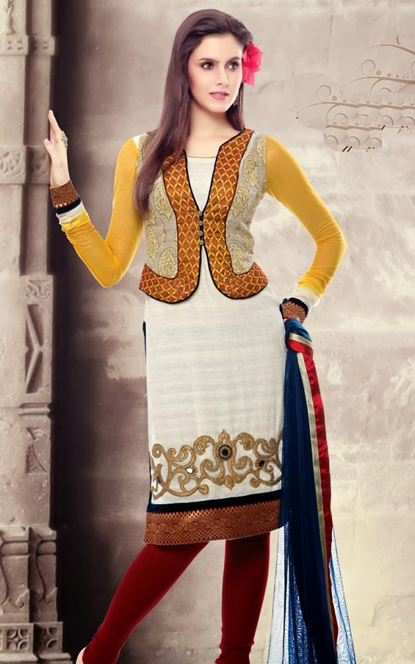 Ladies Fashions: Different Types of Salwar Kameez Stitching Models