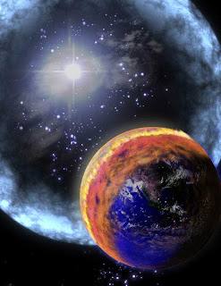 Nibiru or planet-x collision with earth ends the world in 2012-Images