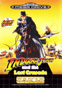 Indiana Jones and The Last Crusade para SEGA MegaDrive